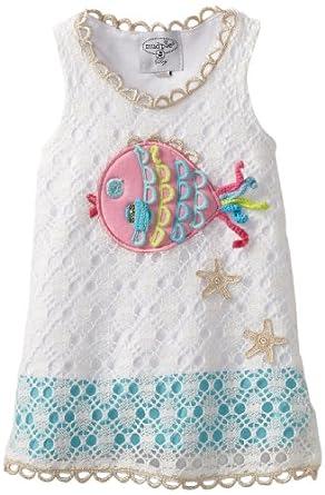 Amazon Mud Pie Baby Girls Newborn Crochet Fish Cover