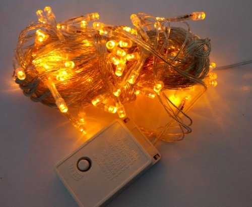 Willlight 8 Modes 10M 100 Led String Fairy Light For Wedding Christmas Party Holiday-Orange