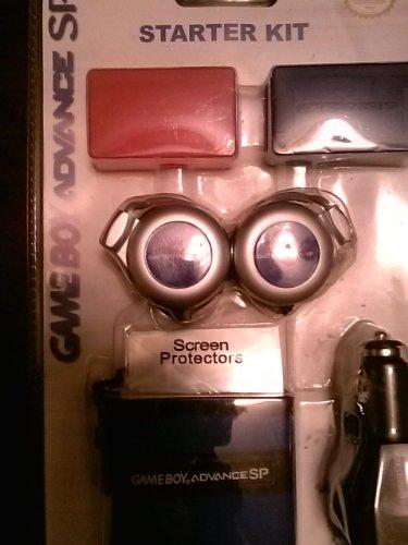Gameboy Advance Sp Starter Kit - Blue (Doom Gameboy Advance Sp compare prices)