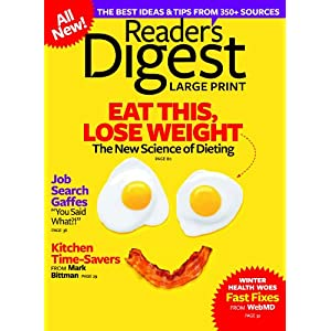 3-Year Reader's Digest Large Print Subscription