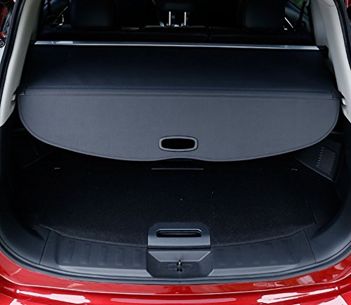 E-cowlboy Black Retractable Rear Trunk Cargo Cover Shield for Nissan Rogue Sv X-trail T32 2014 2015 2016 (Cargo Shade Nissan 2014 compare prices)