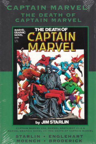 The Death of Captain Marvel (Marvel Premiere Classic) Direct Market Variant (Marvel Premiere Classic, 43)