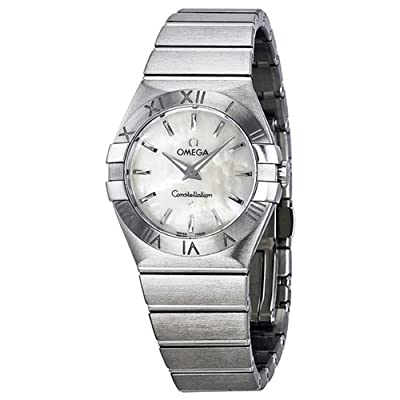 Omega Constellation Mother of Pearl Dial Stainless Steel Ladies Watch 12310276005001