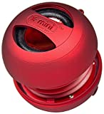 XMI X-Mini II 2nd Generation Capsule Speaker for iPhone/iPad/iPod/MP3 Player/Laptop - Red