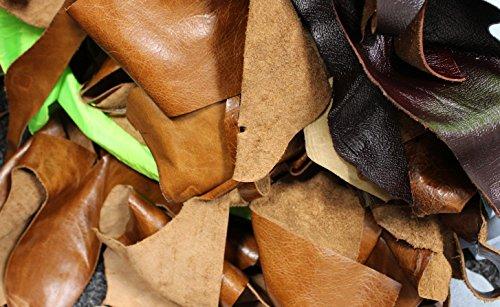 2kg-bag-of-mixed-quality-scrap-leather-arts-craftsoff-cutsremnantspieces