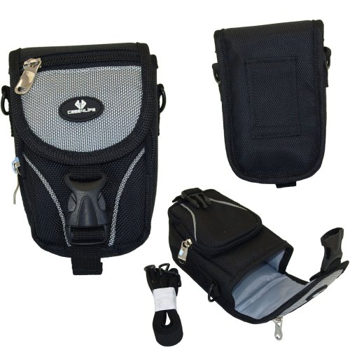 case4life-black-grey-large-digital-camera-and-accessory-case-for-canon-powershot-elph-a-d-g-sx-s-ser