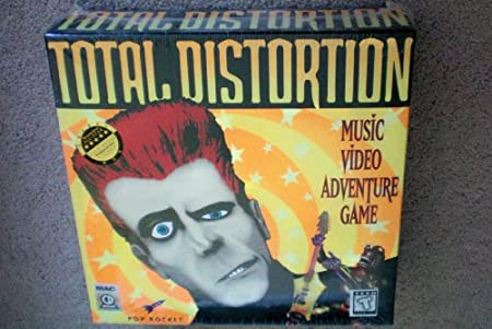 Total Distortion Music Video Adventure Game -- MAC CD ROM -- as shown