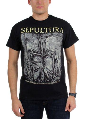 Sepultura - Top - Uomo nero Medium