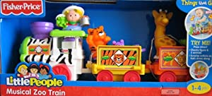 Fisher-Price Little People Musical Zoo Train