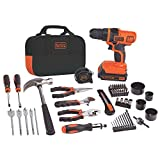 BLACK+DECKER LDX120PK 20-Volt MAX Lithium-Ion Drill and Project Kit by BLACK+DECKER