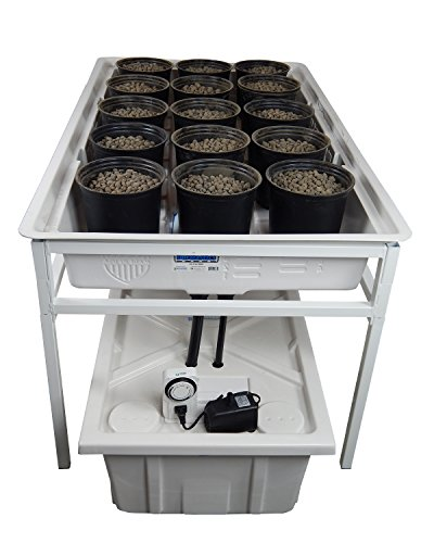 Buy 3 39 x 6 39 black xtray with good ebb and flow features for Hydroponic bed liner