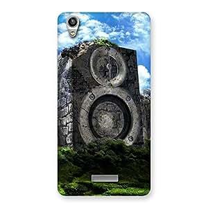 Gorgeous Speaker Of Rocks Back Case Cover for Lava-Pixel-V1