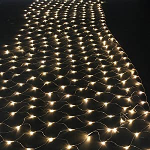 Netkitchen Lightning : 300 LED Net Mesh Fairy String Light Christmas Lights Lighting Party ...