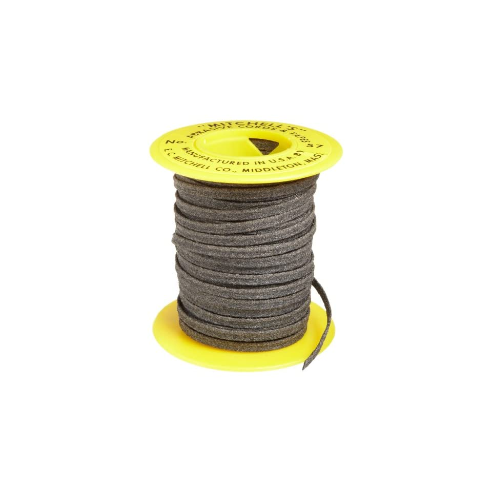 Mitchell Abrasives 01-S Flat Abrasive Tape Silicon Carbide 180 Grit 1//16 Wide x 25 Feet