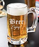 Personalized Beer Mug 12oz