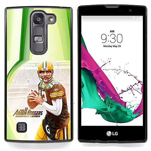 Aaron Rodger 12 NFL Custodia protettiva Progettato rigido in plastica King Case For LG Volt 2 / LG G4 Mini (G4c)