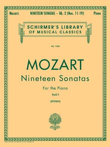 19 Sonatas - Book 2: Piano Solo (Piano Collection) (Schirmer's Library of Musical Classics)