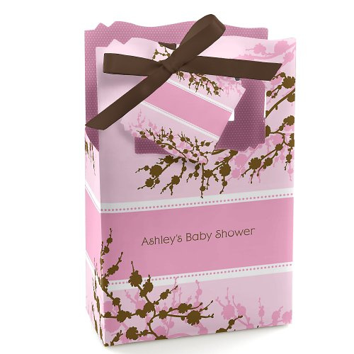 Baby Cherry Blossom - Personalized Baby Shower Favor Boxes front-804717
