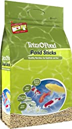 TetraPond 16484 Pond Sticks, Healthy Nutrition for Goldfish and Koi, 3.70-Pound, 15-Liter