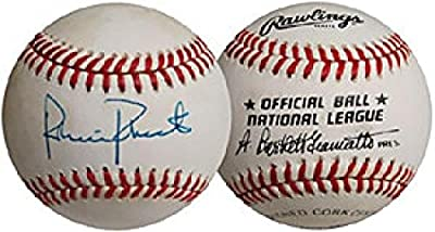 Autographed Robin Roberts Ball - 1955 1977 Baltimore Orioles Bartlett Giamatti - Autographed Baseballs