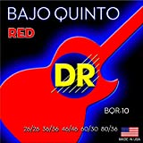 DR Strings BQR Bajo Quinto, Red