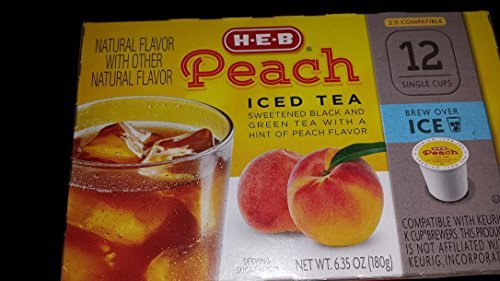 heb-peach-iced-tea-12-single-cups-compatible-with-keurig-k-cup-brewers-by-heb