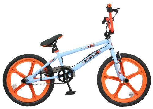 Redemption Mag Wheel Boys BMX Bike - Blue/Orange, 20 inch