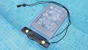 Wasserdichte Tasche - Hülle - Etui für Amazon Kindle - Kindle Paperwhite - Blau