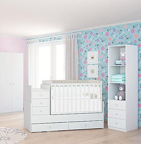 Polini Kids Kinderzimmer weiß Sweet Dreams Größe M, 7306