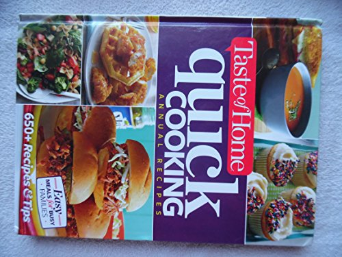 Image for Taste of Home Quick Cooking Annual Recipes