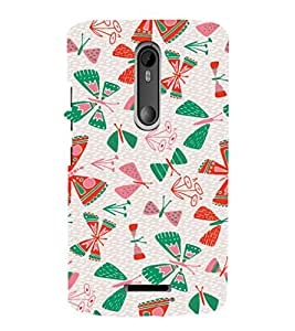 EPICCASE butterflies Mobile Back Case Cover For Moto X 3rd Gen (Designer Case)