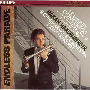 Trumpet concertos of Birtwistle, Blake Watkins, Maxwell Davies