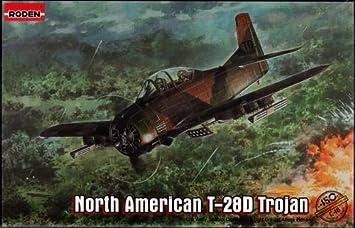 Maquette North American T-28D Trojan, 2ème GM