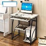 Soges ラック付きデスク ワークデスク パソコンデスク PCデスク パソコンテーブル