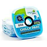 Chilly Paks. Ice Packs. Blue. Set 4.