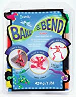 Sculpey Bake & Bend Clay - 8-Color Set - 2-oz. Bars