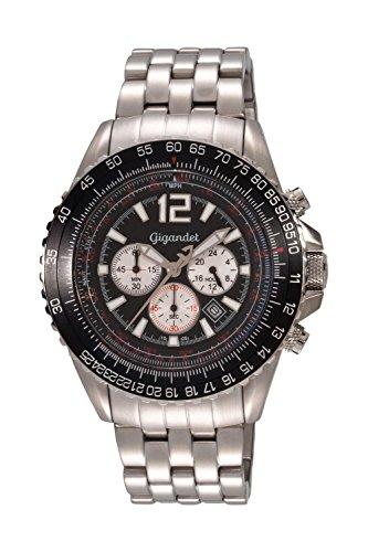 Gigandet - Orologio da uomo cronografo sport in acciaio 10bar - G1-001