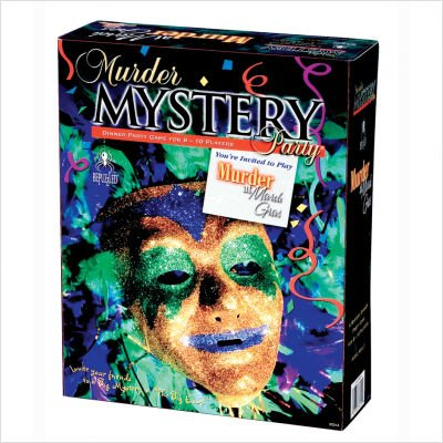 University Games Murder Mystery Party Game - Murder at Mardi Gras
