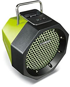 Yamaha PDX-11 Dock station portatile per iPod/iPhone, colore green