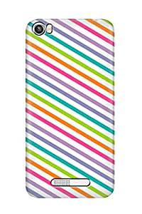 ZAPCASE PRINTED BACK COVER FOR LAVA IRIS X8 - Multicolor