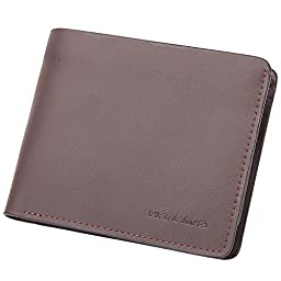 Harrm\'s Best Mens Handmade Genuine Leather with Designer,thin Bifold Wallet Italian 100% Cowhide Style Luxury