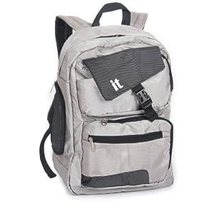 It Luggage Grey Wheeled Holdall - 10 Year Guarantee from IT Luggage