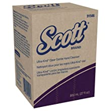 Kimberly-Clark Scott 91546 Ultra-Kind Gentle Skin Cleanser, 800mL, Clear (Case of 12)