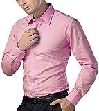 Being Fab Pink Cotton Shirt