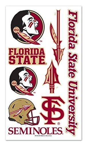 NCAA Officially licensed Florida State University Seminoles Temporary Tattoo Package