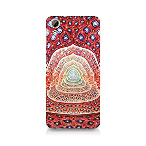 Ebby Psychedelic Faces on the wall Premium Printed Case For HTC Desire 820