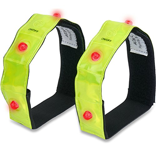 3M Scotchlite Reflective Armband or Ankle Band – High Visibility Outdoor Gear For Arm, Wrist, Leg or Ankle Use – Increased Safety for Running, Cycling, Walking, Kids & Pets (2-Pack)
