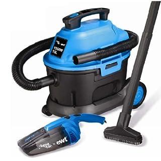 Ewt kitvacauto aspirateur eau et poussi re 10l 1000w for Aspirateur a main eau et poussiere