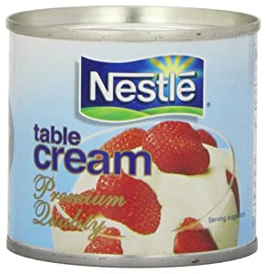 Nestle Table Cream, 7.6 Ounce: Amazon.com: Grocery ...