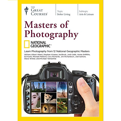 The Great Courses: National Geographic Masters of Photography